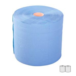 Ręcznik papierowy makulaturowy niebieski 300mb.