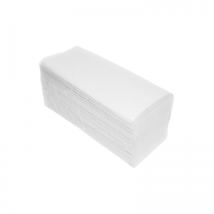 Ręcznik papierowy biały celulozowy 160 listków.